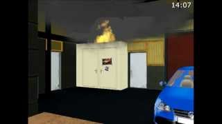 Animatie Brand scheepsloods, De Punt, 9 mei 2008