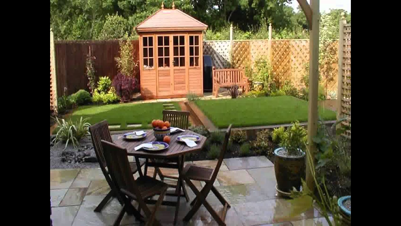 small home square garden design ideas youtube