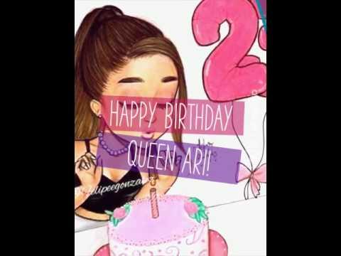 Happy Birthday Queen Ari!   (Created with @Magisto)