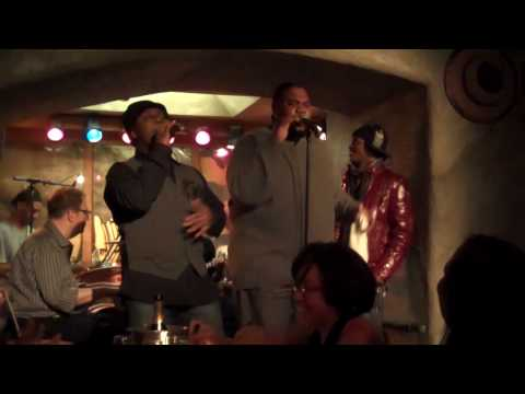 """Harry Thompson, Clayton Bryant and Wallace Gary performing """"CRAZY"""" live at the Sugarbar"""