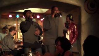 "Harry Thompson, Clayton Bryant and Wallace Gary performing ""CRAZY"" live at the Sugarbar"