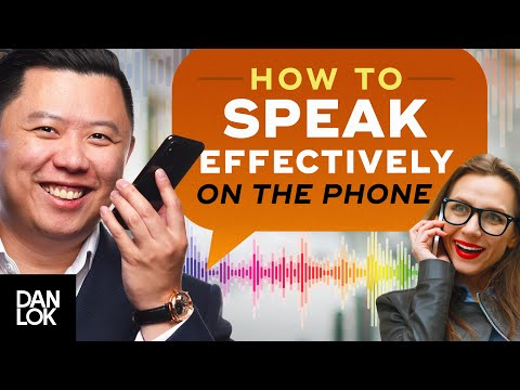 How To Speak Effectively On The Phone - English Lessons - Telephone Skills
