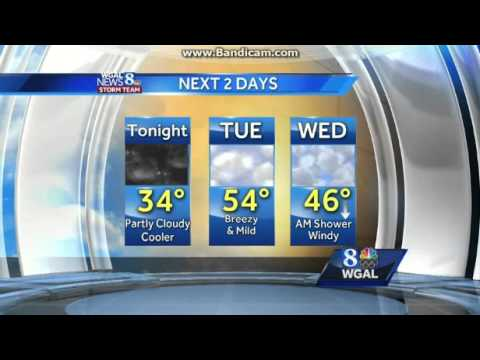 WGAL-DT2: WGAL News 8 At 10pm on Me-TV Susquehanna Valley Close--02/29/16