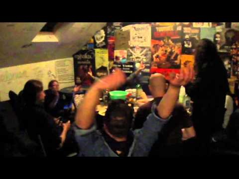 Short Documentary of Die Kur performing Live at Le Biplan in Lille (France)