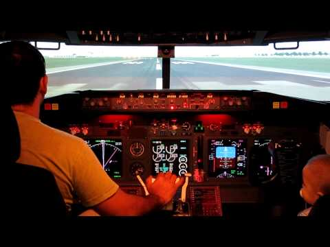 Home made cockpit take off from Jose Marti International La Havana CUBA