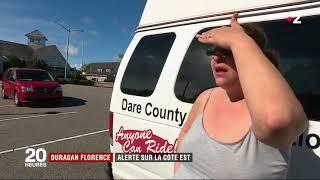 Ouragan Florence: alerte sur la côte Est