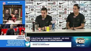 Veja o que disseram Fagner e Jadson na véspera da decisão da Copa do Brasil