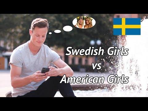 American vs Swedish Girls