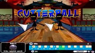 Gutterball 2 Gameplay - Lotus Alley (unlock iceberg arena)