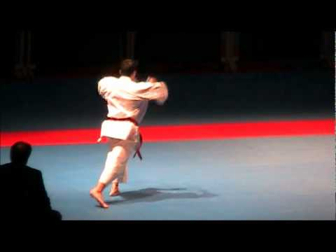 Kata UNSU by Luca Valdesi - FINAL 46th EKF European Karate Championships