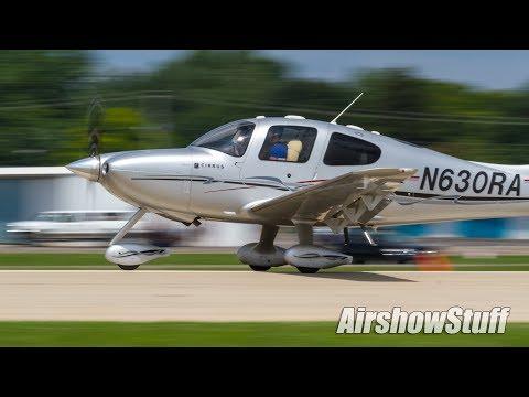 Pre-AirVenture Arrivals (Sunday) Part 1 - EAA AirVenture Oshkosh 2017