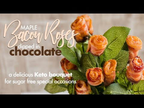 chocolate-dipped-keto-bacon-roses-•-special-sugar-free-treat