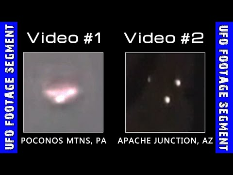 UFO SIGHTINGS • 2 Videos • Pennsylvania • Arizona