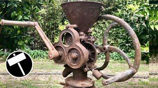 Restauración de una Trituradora de Grano de 1902