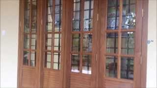 2 And 3 Panel Wooden Window Design