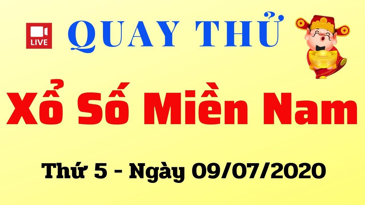 Quay Thử XSMN 08/07 - Kết Quả Quay thử XSMN hôm nay 09/07/2020