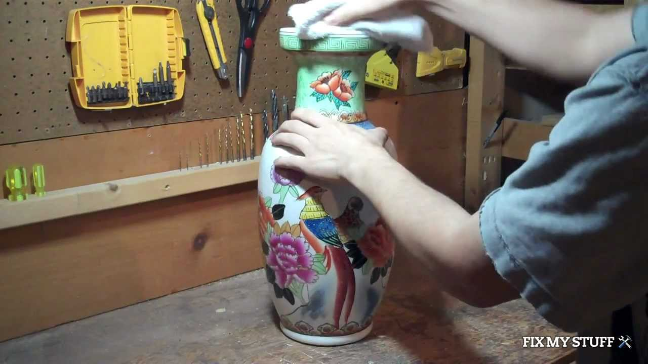 How to fix antique vase youtube how to fix antique vase reviewsmspy