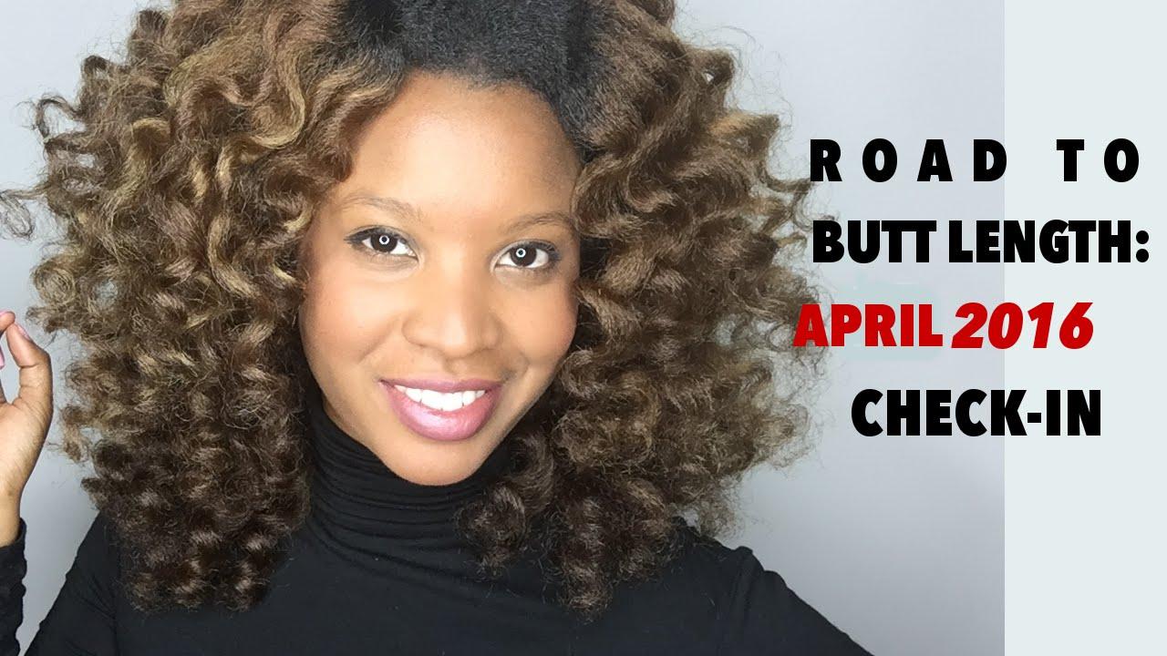 waist length natural hair april