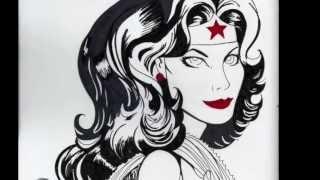 Wonder Woman Drawing!