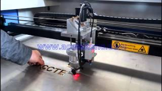150w 180w 260w steel laser cutting machine, cutting thickness up to 3mm carbon steel