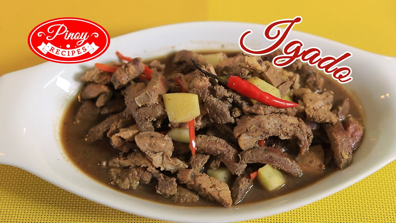 Igado pinoy recipe how to cook igado pinoy recipes youtube forumfinder Gallery