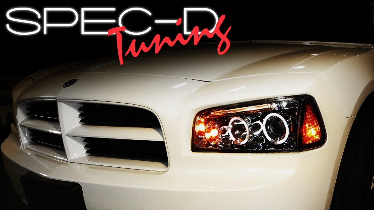 SPECDTUNING INSTALLATION VIDEO 20062010 DODGE CHARGER PROJECTOR