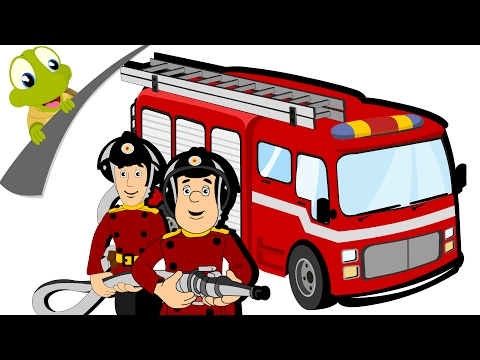 Hurry Hurry Drive the Fire Truck | Nursery Rhyme and Car Song for Kids