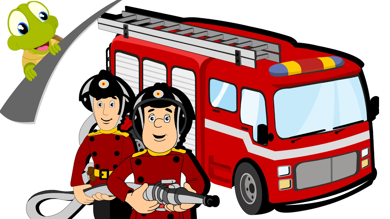 Hurry Drive The Fire Truck Nursery Rhyme And Car Song For Kids