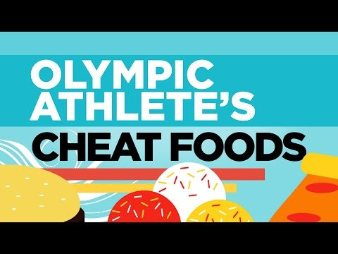 Olympic athletes' favorite CHEAT MEALS 😁  | Rio Olympics 2016