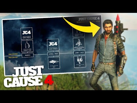 JUST CAUSE 3 RICO SKIN & DLC RELEASE DATE! - Just Cause 4 NEW Update! thumbnail