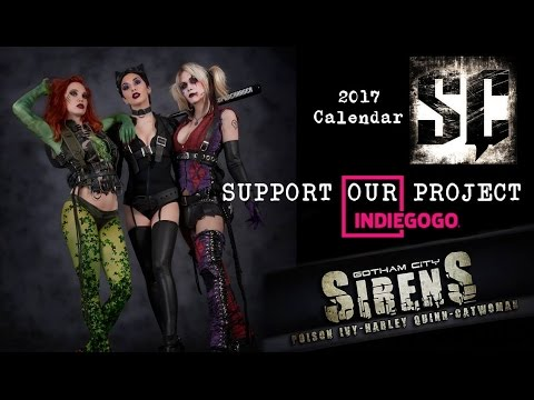 Gotham City Sirens Calendar on IndieGogo - by Supercharger