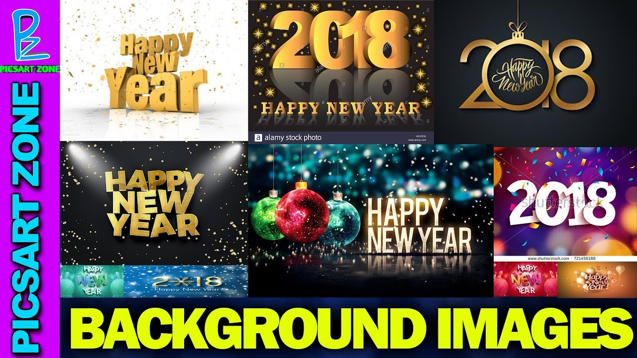 New Year 2018 Background Images And Png Free Download New Year