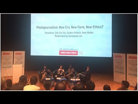 PANEL DISCUSSION: Photojournalism: new era, new forms, new ethics? / 29th January 2016
