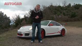 Porsche 911 GT3 RS driven by autocar.co.uk
