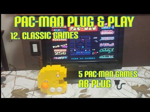 PAC MAN PLUG & PLAY NAMCO CONTROL