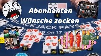 Online Casino Deutsch Black Jack und SLOTS - Abonnenten Wünsche zocken #1