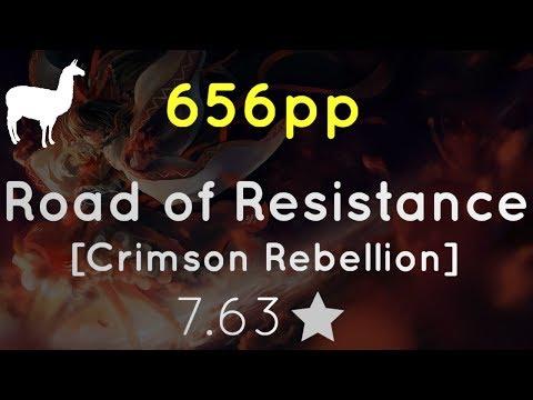 656pp   SPACED STREAMZZZ - BABYMETAL - Road Of Resistance [Crimson Rebellion] (filsdelama)