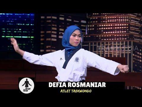DEFIA ROSMAINAR, Peraih Emas Pertama Indonesia Di Asian Games 2018   HITAM PUTIH (31/08/18) 1-4