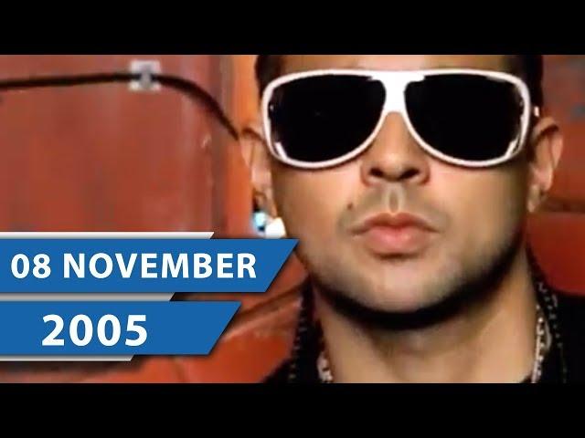 2005 HITS: MUSIK CHARTS NOVEMBER –Sean Paul, Melanie C und Coldplay (THROWBACK CHARTS