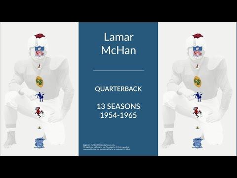 Lamar McHan: Football Quarterback