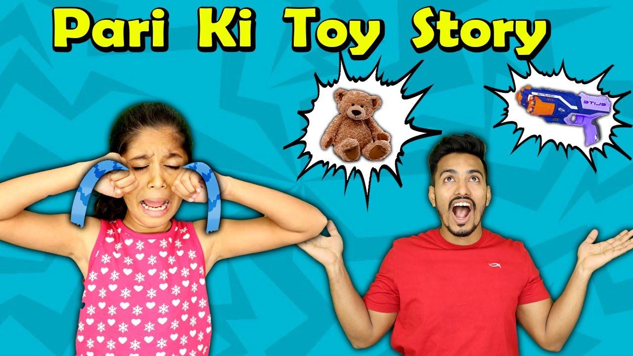 Pari Ki Toy Story | Moral Story For Kids | Pari's Lifestyle