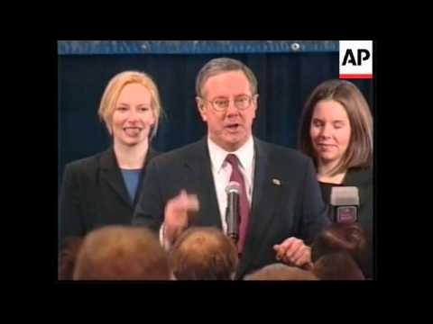 USA: IOWA: PRESIDENTIAL ELECTION RACE: BUSH/GORE