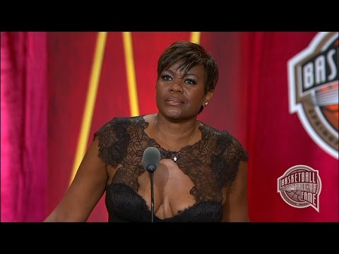 Sheryl Swoopes' Basketball Hall of Fame Enshrinement Speech