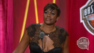 Sheryl Swoopes Basketball Hall of Fame Enshrinement Speech