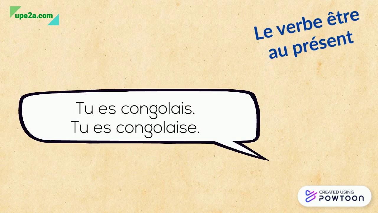 Se Presenter Les Verbes S Appeler Avoir Et Etre Au Present Upe2a Com