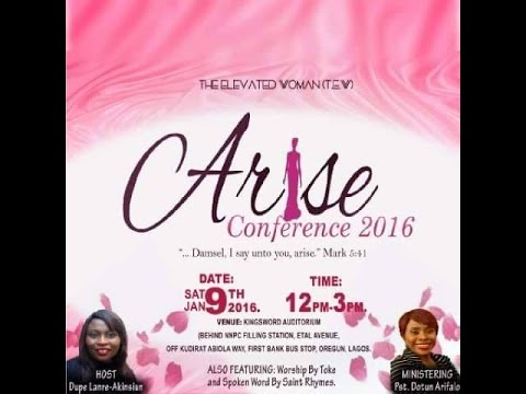 The Elevated Woman - Arise Conference 2016