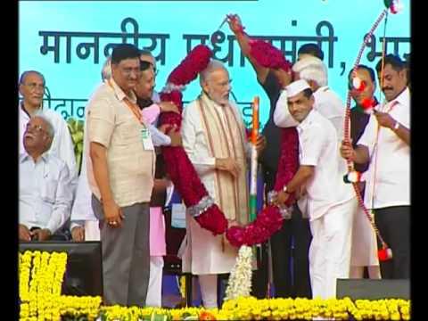 PM Modi at Samajik Adhikarikta Shivir (Distribution of Aids & Assistive Devices) at Vadodara