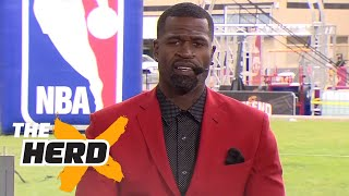 Stephen Jackson on people saying Durant better than LeBron, facing Shaq/Kobe and more | THE HERD