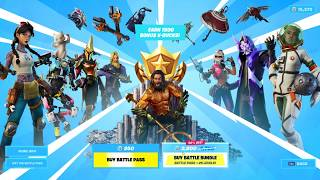 MAX TIER BATTLE PASS -  FULLY UPGRADED SKINS (ALL TIER 100 REWARDS) Fortnite Season 3 Chapter 2