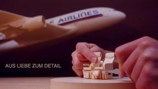 Singapore Airlines - Aus Liebe zum Detail